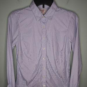 J Crew Haberdashery Button Front Shirt
